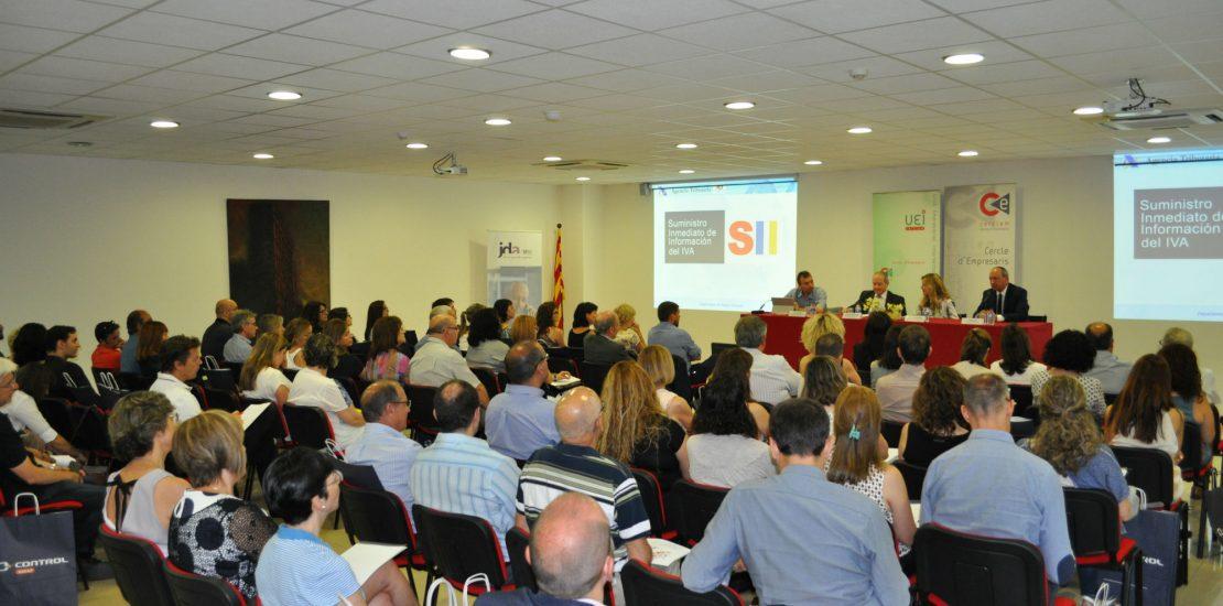 Conferencia sobre el nuevo sistema de gestión del IVA