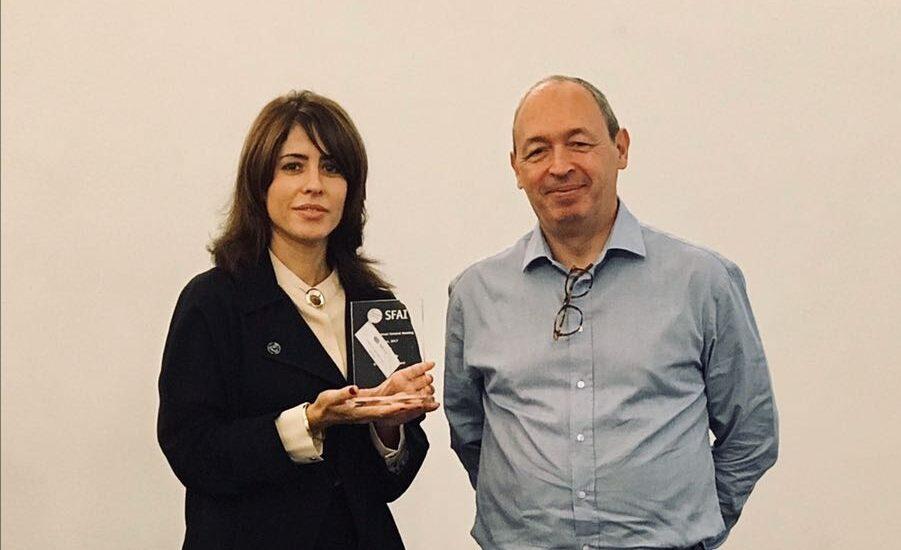 Premio Social Media & Publications a SFAI Spain