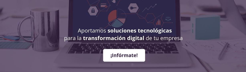 Consultoría tecnológica call to action