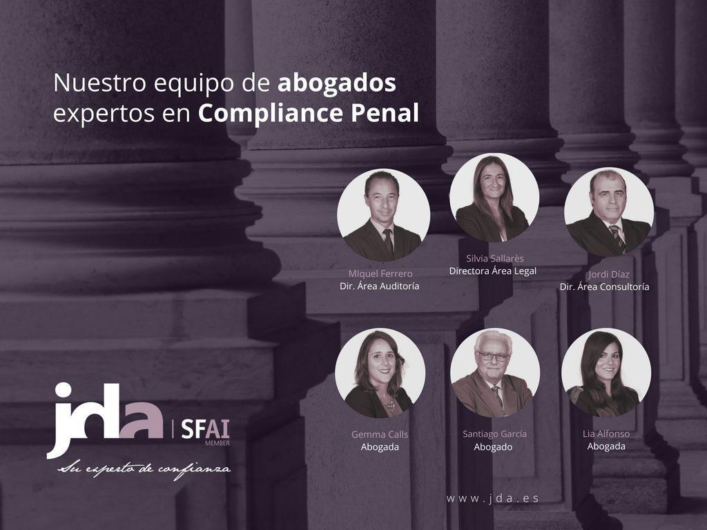 Nuestro equipo de expertos en Compliance Penal
