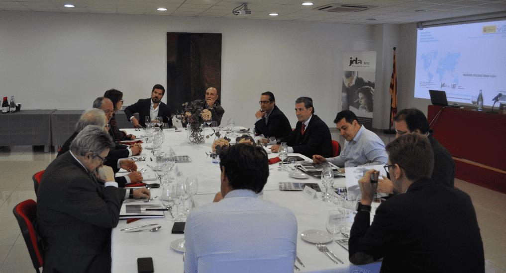 Imagen Tertulia sobre financiación en I+D+i para empresas e industrias en la sede de la UEI