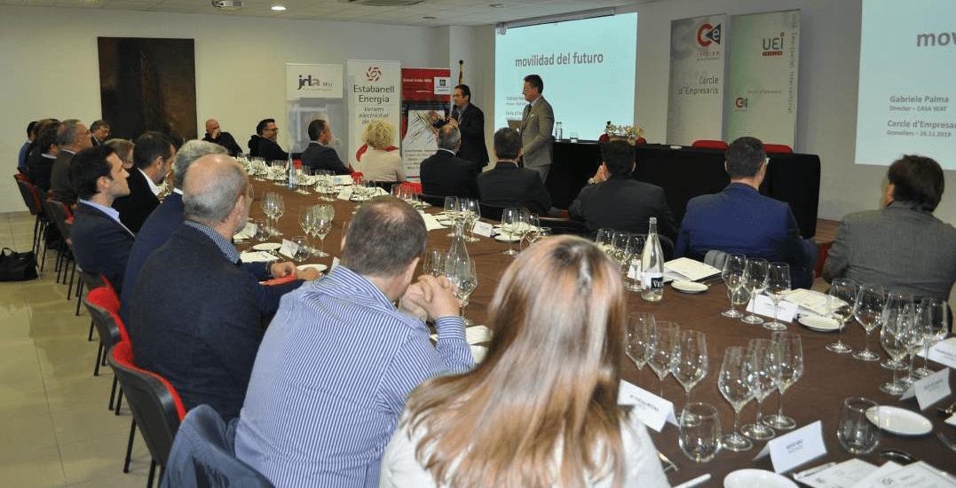 JDA patrocinó el evento Mobilidad: tendencias y retos de SEAT en la sede de la UEI