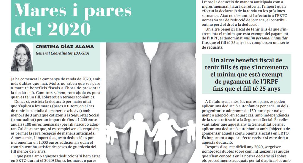 Mares i pares 2020
